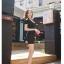 พร้อมส่ง-เดรสแฟชั่น โชว์ไหล่ ติดโบว์ที่ไหล่ ผ้าคอตตอน สีดำ น่ารักๆ thumbnail 4