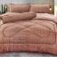 ขายส่ง ชุดเซท ผ้าปูที่นอน+ผ้านวม สีพื้น-ลายริ้ว เกรดAA 6ฟุต*6ชิ้น ส่ง 460 บาท thumbnail 6