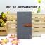 เคส Samsung Galaxy Note 3 ลายยีนส์ ฝาปิด ตั้งแนวนอนได้ สีเทา thumbnail 1