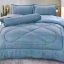 ขายส่ง ชุดเซท ผ้าปูที่นอน+ผ้านวม สีพื้น-ลายริ้ว เกรดAA 6ฟุต*6ชิ้น ส่ง 460 บาท thumbnail 7