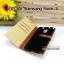 เคส Samsung Galaxy Note 3 ลายยีนส์ ฝาปิด ตั้งแนวนอนได้ สีเหลือง thumbnail 4
