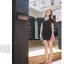 พร้อมส่ง-เดรสแฟชั่น โชว์ไหล่ ติดโบว์ที่ไหล่ ผ้าคอตตอน สีดำ น่ารักๆ thumbnail 3