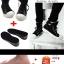 พร้อมส่ง-แผ่นเพิ่มความสูง size 40-45 หรือ size เกาหลี 255 - 280 # แผ่นเพิ่มความสูง 3.5 - 5 cm. เต็มเท้า สีดำ thumbnail 3