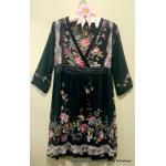 &#x273F Dress : New old stock : &#x273F ผ้าชีฟอง ป้ายห้อย!! &#x273F