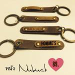 พวงกุญแจหนังแท้ Homme's (Key ring Leather)