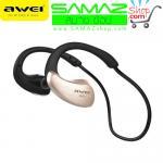 หูฟัง บลูทูธ AWEI A885BL WaterProof Stereo Headset สีทอง