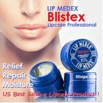 เรท เดียวกัน > BLISTEX Medex Lip Moisturizer 7g. บำรุงผิวริมฝีปาก ป้องกัน ริมฝีปากแห้งแตก เป็นขุย เหมาะสำหรับบำรุง ปกป้องผิวริมฝีปากโดยเฉพาะ
