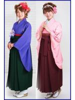 ชุดกิโมโนฮากามะ สำหรับผู้หญิง
