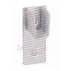 หัวรับแป๊บเหลี่ยม (ใช้กับเสารูกุญแจ)