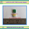 1x PCB SOT-23 to DIP 3 PIN PCB Converter Adapter for SOT23 Package