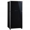 ตู้เย็น 2 ประตู SHARP SJ-X510GP-BK 18.3Q กระจกดำ ใหม่ประกันศูนย์ โทร 097-2108092, 02-8825619, 063-2046829