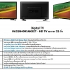LED TV SMAUNG HD DIGITAL รุ่น UA32N4003 ใหม่ประกันศูนย์ โทร 097-2108092, 02-8825619, 063-2046829