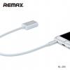Remax แท้ 3.5 AUX RL-S20 สายAUX สายแยกแจ็ค มือถือ MP3 ลำโพง ครื่องเสียง คุณภาพเยี่ยม สายกลม แข็งแรง ทนทาน