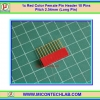 1x Red Color Female Pin Header 10 Pins Pitch 2.54mm (Long Pin)