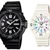 นาฬิกาคู่ นาฬิกาคู่รัก นาฬิกาคู่รัก ราคาถูก นาฬิกาเซตคู่ นาฬิกาข้อมือคู่ นาฬิกาข้อมือคู่รัก นาฬิกาคู่รัก นาฬิกา CASIO นาฬิกาคู่ สายยางเรซิน MRW-200H-1B กับ LRW-200H-7B ประกันศูนย์ 1 ปีเต็ม