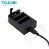 TELESIN Multi-Charger for GoPro Hero4