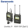 Saramonic UWMIC9 Set 96-Channel Digital UHF Wireless Lavalier Microphone System