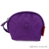 กระเป๋าคล้องมือผ้าลิง สีม่วง