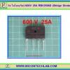 1x ไดโอดบริดจ์ 600V 25A RBV2506D (Bridge Diode)