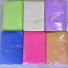 ขายส่ง ผ้าเช็ดตัวนาโน สีพื้น (แบบหนา-สีหวาน) 70*140 cm ส่ง 48 บาท
