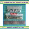12x เสารองแบบเหลี่ยม 12 มม. 24x สกรู M3 (Pillars 12 mm)