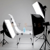 Godox 160W x 3set studio flash suit & shooting table lamp