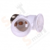 Continuous Lighting E27 with 2 in 1 Bulb Holder for Continuous Day lighting สำเนา