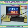 1x Digital DC Voltmeter Ammeter (DC 4.5-200V, 0-100 Amp Blue Red ) module + R-Shunt