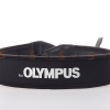 Olympus White on Black Neck Strap Neoprene