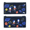 AURORE AND FRIENDS DOUBLE ZIPPER PENCIL CASE
