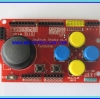 1x JoyStick Keypad Shield Module for Arduino nRF24L01 Nokia5110 LCD I2C (RED PCB)