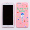 AURORE LA VIE EST BELLE IPHONE 6 PLUS SNAP CASE