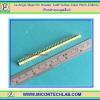 1x Angle Male Pin Header 1x40 Yellow Color Pitch 2.54mm (ก้างปลาแบบมุมเอียง)