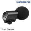 Saramonic Vmic Stereo Condenser Video Microphone with Rubberized Shockmount, High-Pass Filter, Level Control, & High-Frquency Switches, Monitoring & More - for DSLR Cameras & Camcorders