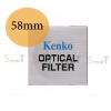Kenko UV Filter 58mm.