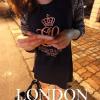 เสื้อยืดแฟชั่นเกาหลี แขนยาว พิมพ์ลาย เนื้อผ้านิ่มบาง ไม่ร้อน เหมาะกับสาวร่างบางนะคะ ช่วงแขนเสื้อเป็นลายแฟชั่น ตัดกับสีพื้นช่วงตัว