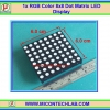 1x RGB Color 8x8 Dot Matrix LED Display RGB Full Color