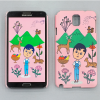 AURORE & DEER SNAP CASE FOR GALAXY NOTE 3