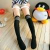 Pre Order / ถุงเท้าแฟชั่น สีดำ