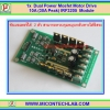 1x Dual H-Bridge Power Mosfet Motor Drive 10A (30A Peak) IRF3205 Module