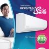 Daikin Inverter แอร์ติดผนัง SMILE-R32 รุ่น FTKC-24NV2S 20,500 BTU โทรเล้ย 0972108092