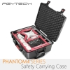 PGYTECH Safety Carrying Case For Phantom4 Series Camera Drone Accessory Waterproof Hard EVA Foam Equipment Carrying
