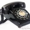 โทรศัพท์แบบแป้นหมุนของเก่า