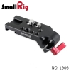 SMALLRIG® Mini Mounting Plate with 15mm Rod Clamp 1906