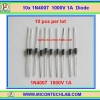 10x 1N4007 Diode 1 Amp 1000 V Rectifier Diode (10 pcs per lot)