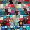 จัดเซ๊ตผ้ารวมบางเด็ก น้ำ3ล้วน รวมเสื้อ กางเกงกระโปรง เดรส 100 ตัว