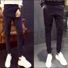 PRE-ORDER กางเกงขายาวแฟชั่นใหม่ กางเกงขายาวลำลองจั๊มขาเข้ารูปทรงสวย ออกแบบแนวสีสันเรียบง่าย