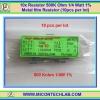 10x Resistor 500 K Ohm 1/4 Watt 1% Metal film Resistor (10pcs per lot)