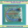 1x Jumper (F2F) cable Wire 10pcs 20cm Blue color Female to Female (F2F)