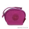 กระเป๋าคล้องมือผ้าลิง สีชมพูอมม่วง